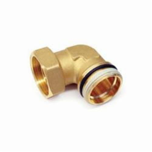 Uponor TruFLOW™ A2620090 Manifold Elbow Union, R32 x 1-1/4 in, Male BSP, 145 psi, Brass