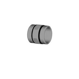 Uponor TruFLOW™ A2651515 Manifold Union Nipple, 1-1/2 x 1-1/2 in, BSP, 145 psi, 220 deg F, Brass