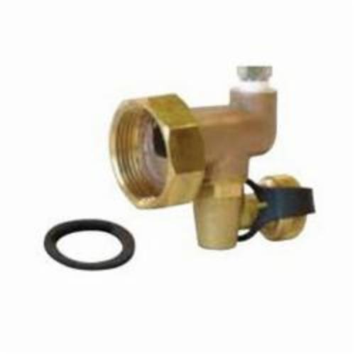 Uponor A2803250 End Cap With Vent, 1-1/4 in BSP, 145 psi, 220 deg F, Brass