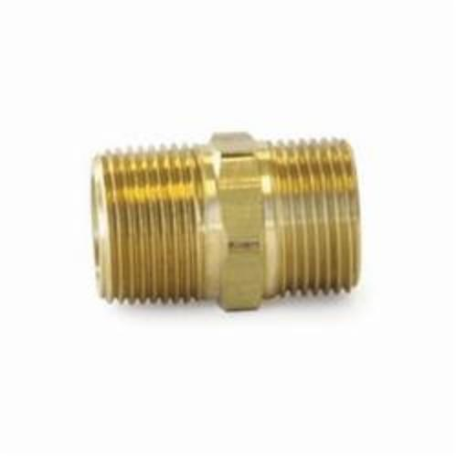 Uponor A4322075 QS-Style Conversion Nipple, R20 x 3/4 in, NPT, 125 psi, Brass