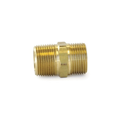 Uponor A4322575 QS-Style Conversion Nipple, R25 x 3/4 in, NPT, 125 psi, Brass, Domestic