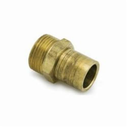 Uponor A4342510 QS-Style Fitting Adapter, R25 x 1 in, C x C, 125 psi, Brass