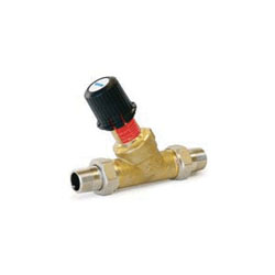 Uponor A5410750 Differential Pressure By-Pass Valve, 3/4 in, 145 psi, 0.22 gpm, Brass, Domestic