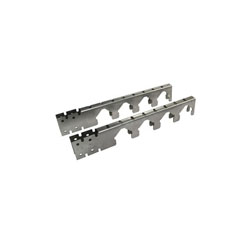 Uponor A5750001 Mounting Bracket, 11 in L x 1-3/4 in W, For Use With 5/8 to 1 in Water Meter, G90 Galvanized Steel