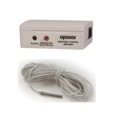 Uponor A9013061 Snow-Melt Control With Slab Sensor, -58 to 302 deg F, 10 to 90% Humidity