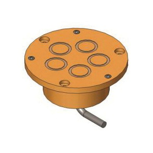 Uponor A9013062 Automatic Snow and Ice Sensor Assembly, Flat Surface Mount, Brass/Stainless Steel