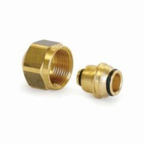 Uponor D4120625 Tubing Compression Fitting Assembly, 5/8 in, Thread, Brass