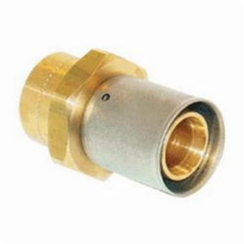 Uponor D4507575 Multi-Layer Composite Fitting Adapter, 3/4 in, MLC Tube x C, Brass