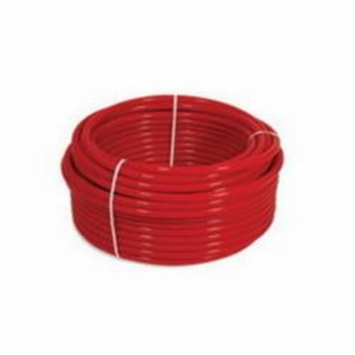 Uponor AquaPEX® F2101000 Tubing, 1 in Nominal, 0.862 in ID x 1-1/8 in OD x 500 ft Coil L, Red, PEX-A