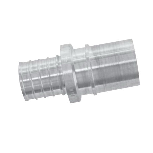 Uponor K4501313 Fitting Adapter, 1-1/4 in, PEX x Copper, APR Brass