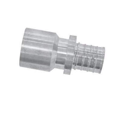 Uponor K4511313 Sweat Adapter, 1-1/4 in, PEX x Copper, APR Brass