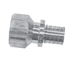 Uponor K4571313 Threaded Adapter, 1-1/4 in, PEX x FNPT, APR Brass
