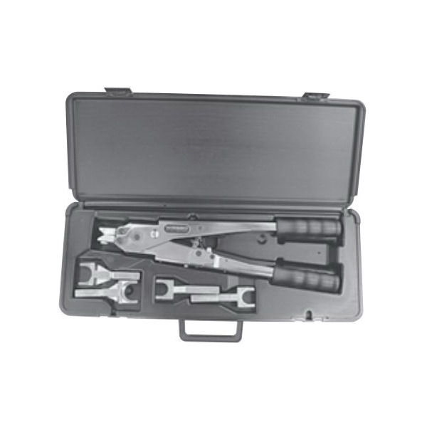 Uponor K6275010 APR Heavy Duty Ratchet Tool Kit, 1/2 to 1 in, 1/2 to 1-1/4 in Tube