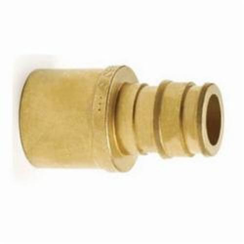 Uponor Q4516375 Adapter, 5/8 x 3/4 in, PEX x C, Brass