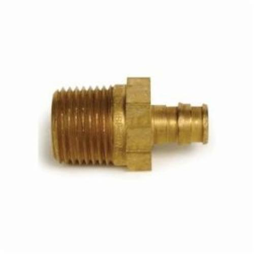 Uponor LF4525075 Male Adapter, 1/2 x 3/4 in, PEX x MNPT, Brass