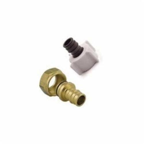 Uponor LF4655050 Swivel Faucet Adapter, 1/2 in, ProPEX® x NPSM, Brass
