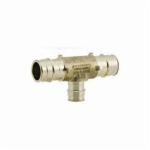 Uponor ProPEX® LF4701775 Lead Free Reducing Tee, 1 x 3/4 x 3/4 in, PEX, Brass