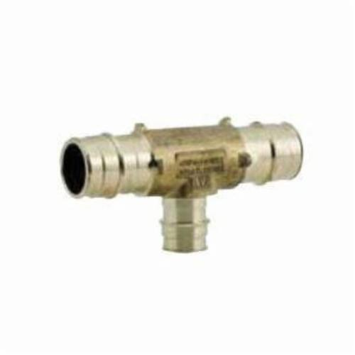 Uponor LF4707550 Reducing Tee, 3/4 x 3/4 x 1 in, ProPEX®, Brass