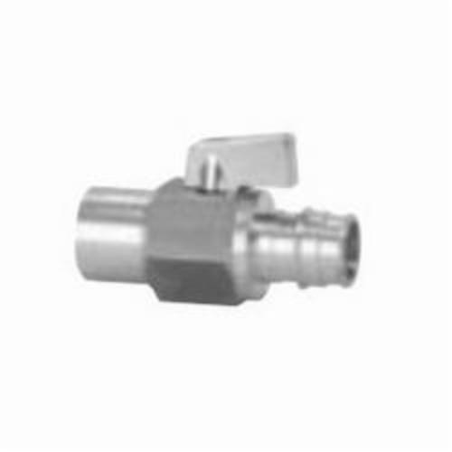 Uponor ProPEX® LF4807575 Ball Valve, 3/4 in, PEX x C Adapter, Brass Body