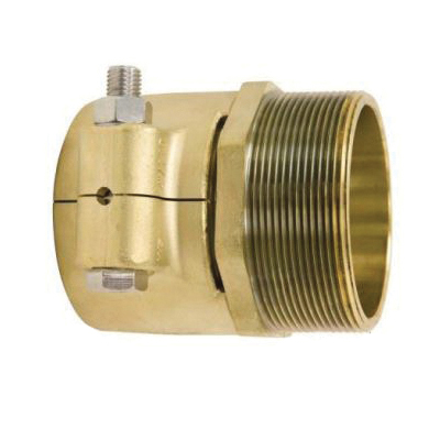 Uponor WIPEX™ LF5550030 Fitting Adapter, 3 x 2-1/2 in, PEX x NPT, 145 psi, Brass