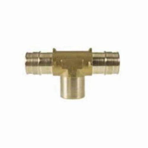 Uponor LF7701010 Adapter Tee, 1 x 1 x 1/2 in, ProPEX® x ProPEX® x FNPT, Brass