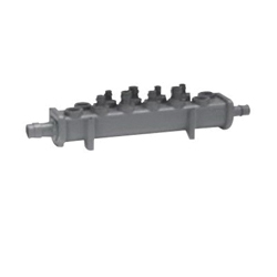 Uponor Q2211000 Valveless Manifold, 10 1 in Inlets, Plastic