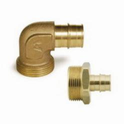 Uponor ProPEX® Q4153275 Manifold Elbow Adapter, R32 x 3/4 in, 125 psi, Brass