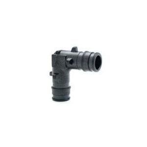 Uponor ProPEX® Q4710625 Elbow, 5/8 in, PEX, Brass, Domestic
