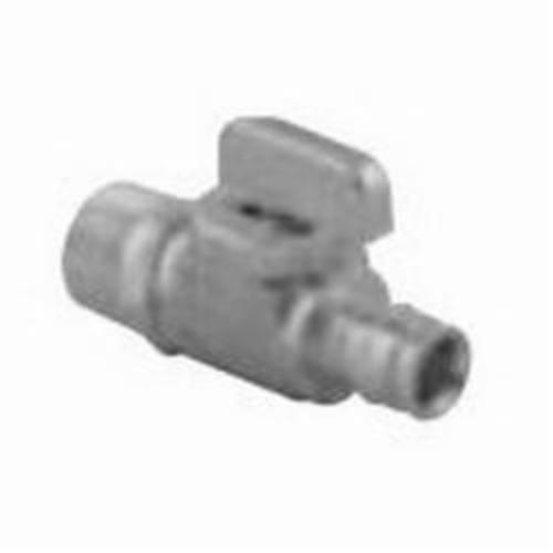 Uponor ProPEX® Q4795050 Shut-off Ball Valve, 1/2 in, PIX x MNPT, Brass
