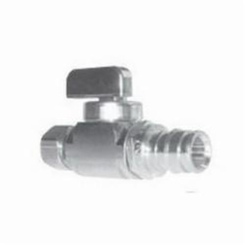 Uponor ProPEX® Q4885038 Straight Stop Valve, 1/2 in, 250 psi, 250 deg F, PEX, Brass