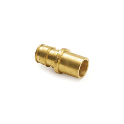 Uponor ProPEX® Q5501515 Fitting Adapter, 1-1/2 in, PEX x C, Brass, Domestic