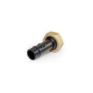 Uponor ProPEX® WS4361000 Water Meter Straight Fitting, 1 x 1-1/4 in, PEX x NPSM, Polyphenylsulfone, Domestic