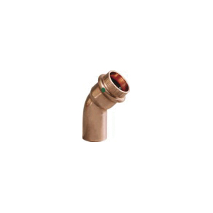 ProPress® 77642 45 deg Tube Elbow, 3/4 in, Press x FTG, Copper, Import