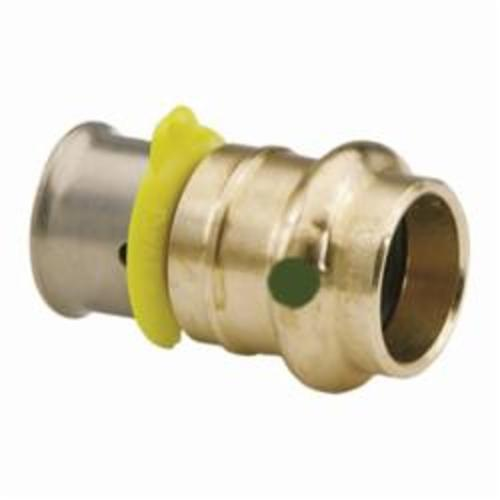 Viega PureFlow® 99645 Model 2813PZL Adapter With EPDM Sealing Element, 1 x 3/4 in, PEX Press, Bronze, Import