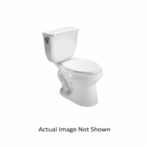 Vortens® 3113WH VIENNA EL DF Toilet Bowl, Elongated, 7 x 8-1/2 in Water Surface, 2-1/8 in Trapway