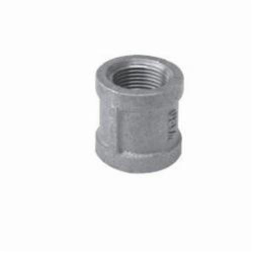Ward Mfg 2D.NMC Straight Pipe Coupling, 2-1/2 in, FNPT, 150 lb, Malleable Iron, Galvanized, Domestic