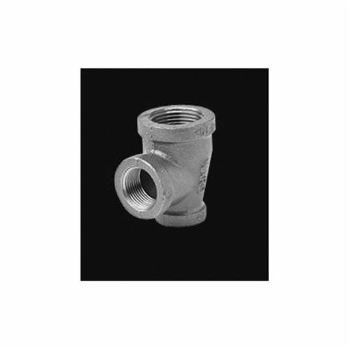 Ward Mfg 2XE.NMT Reducing Pipe Tee, 2 x 2 x 3/4 in, FNPT, 150 lb, Malleable Iron, Galvanized, Domestic