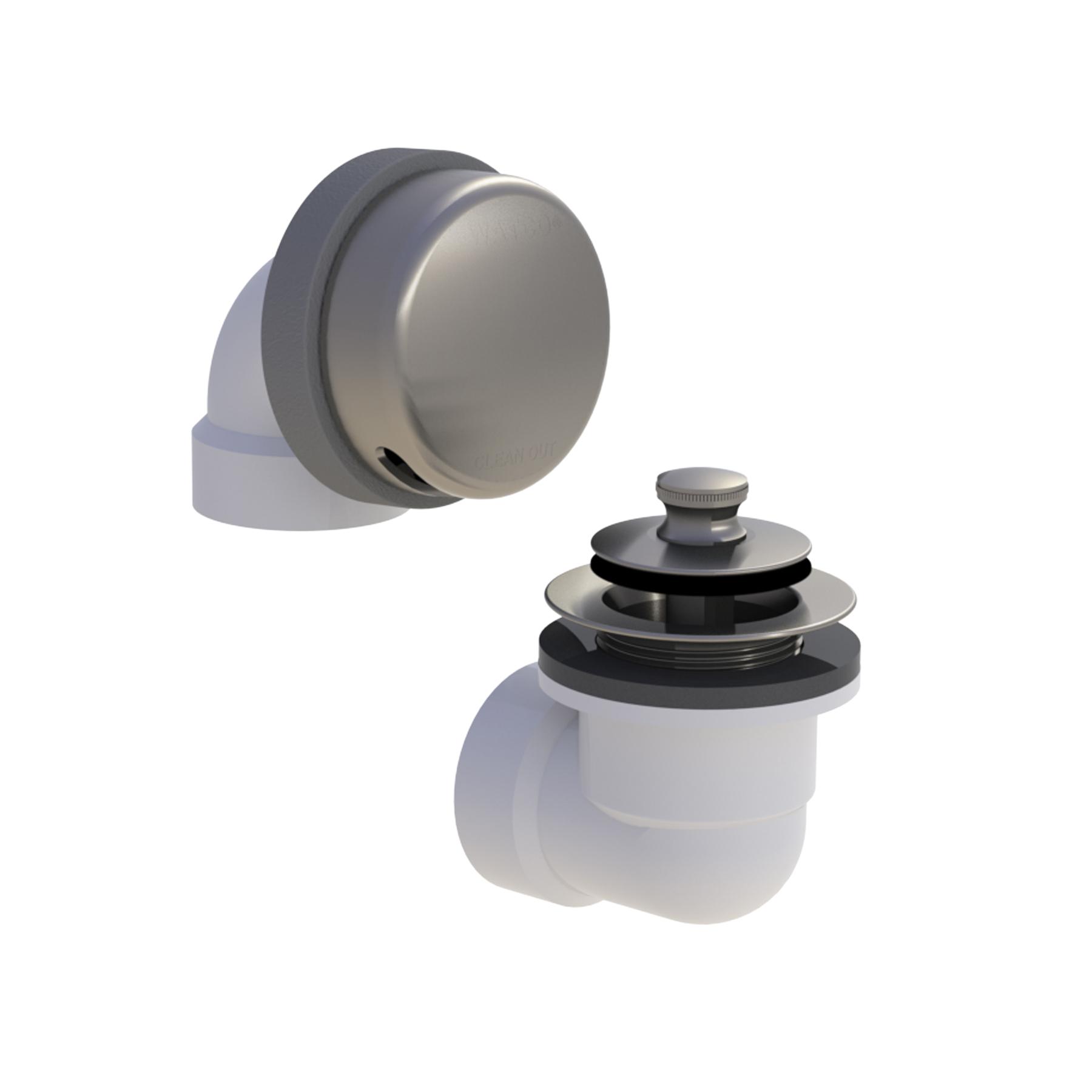 Watco® Innovator® 901 Solvent Weld Bath Waste Half Kit, SCH 40/STD PVC