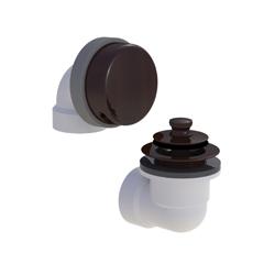 Watco® 901-PP-PVC-BZ Innovator® 901 Solvent Weld Bath Waste Half Kit, STD PVC, Oil Rubbed Bronze