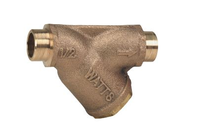 WATTS® 0124008 LF777S Wye Strainer With Retainer Cap, 3 in, NPT, 10-1/8 in OAL, Bronze