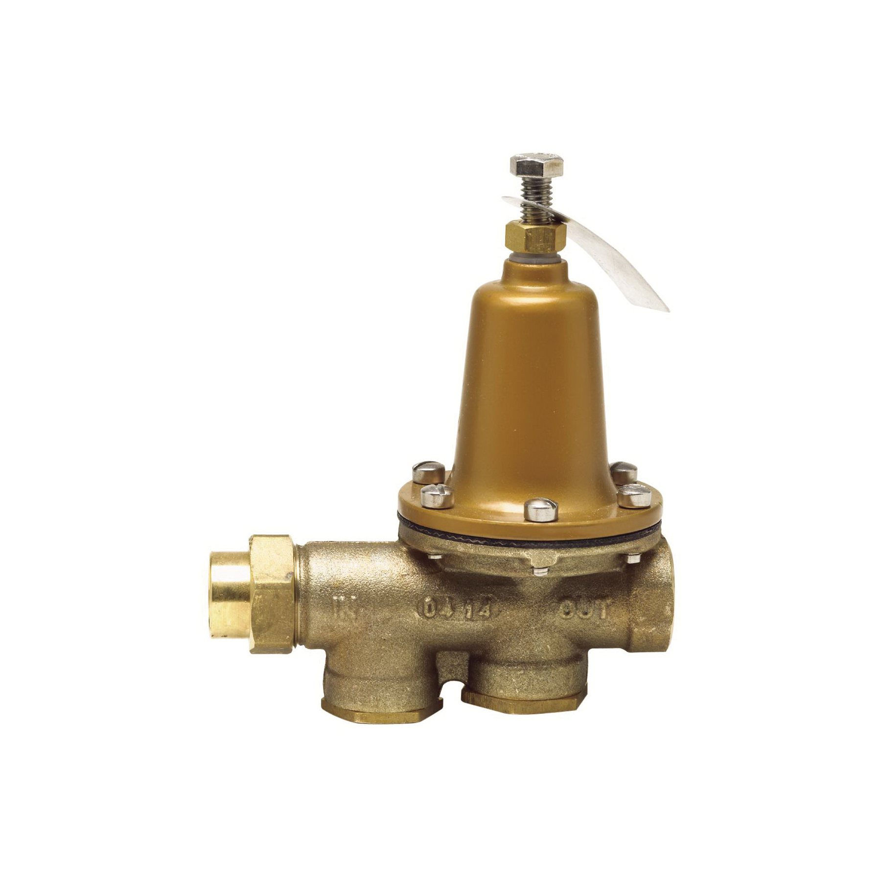 WATTS® 0009279 LF25AUB-Z3 Standard Pressure Reducing Valve, 3/4 in, FNPT, 75 to 125 psi, Copper Silicon Alloy Body