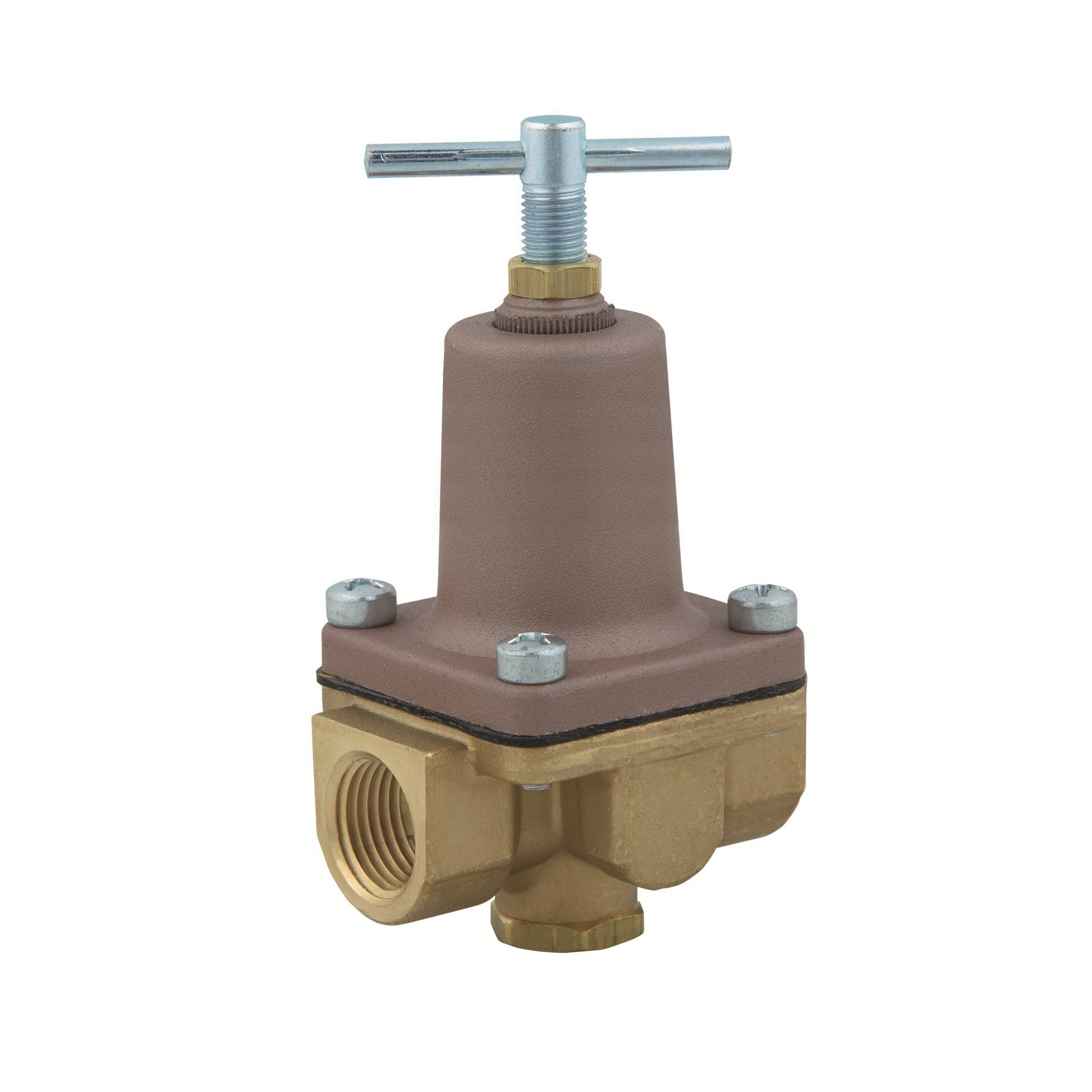 WATTS® 0009815 LF26A 2-Way Small Pressure Regulator, 3/8 in, FNPT, 300 psi, Brass Body