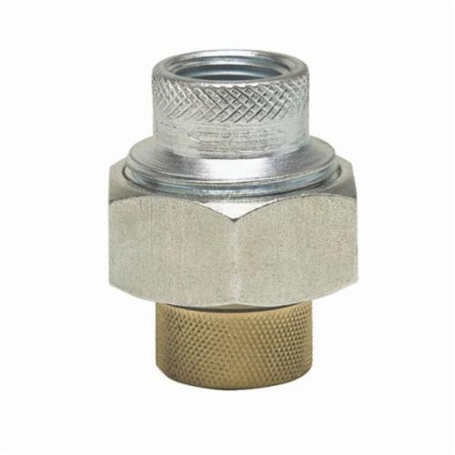 WATTS® 0009878 LF3003 Dielectric Union, 1-1/2 in, FNPT x FBP, Brass