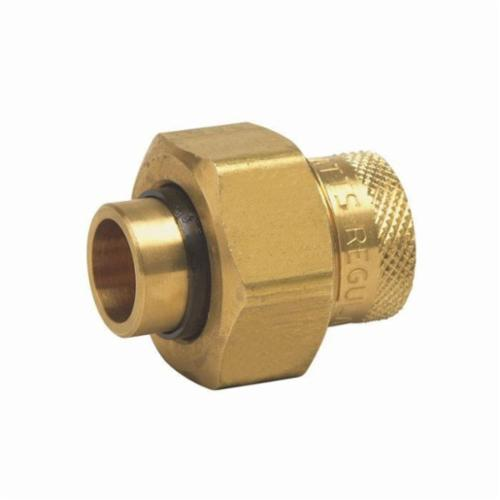 WATTS® 0009881 LF3008 Dielectric Union, 3/4 in, Solder x FNPT, Brass