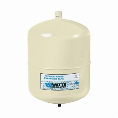 WATTS® PLT Lead Free Water Expansion Tank, 4.5 gal, 10-1/2 in Dia x 13-1/2 in H, 150 psi