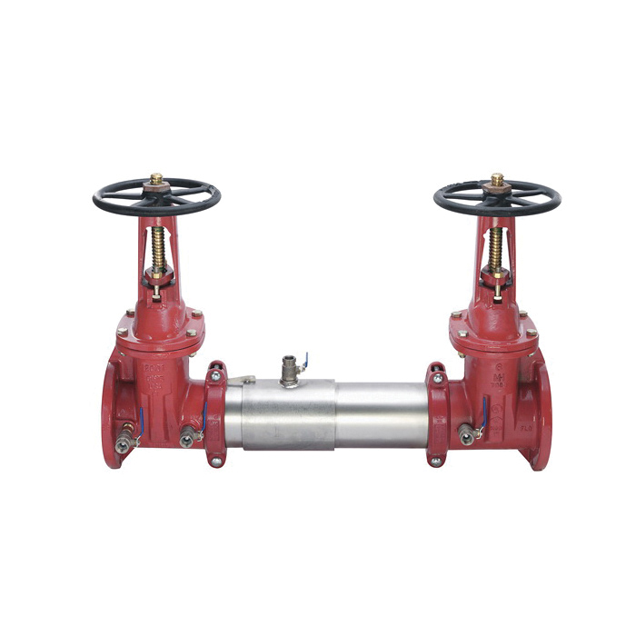 WATTS® 0111510 SilverEagle® 757 Double Check Valve Assembly, 2-1/2 in, Resilient Seated Gate Valve, 304 Stainless Steel Body