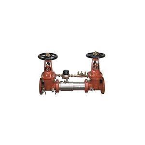 WATTS® 0111544 SilverEagle® 757DCDA Detector Assembly, 2-1/2 in, Resilient Seated Gate Valve, 304 Stainless Steel Body, Double Check Backflow