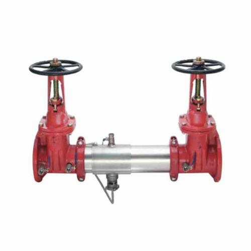 WATTS® 0111589 SilverEagle® 957 Reduced Pressure Zone Assembly, 10 in, Grooved, Resilient Seated Gate Valve, 304 Stainless Steel Body