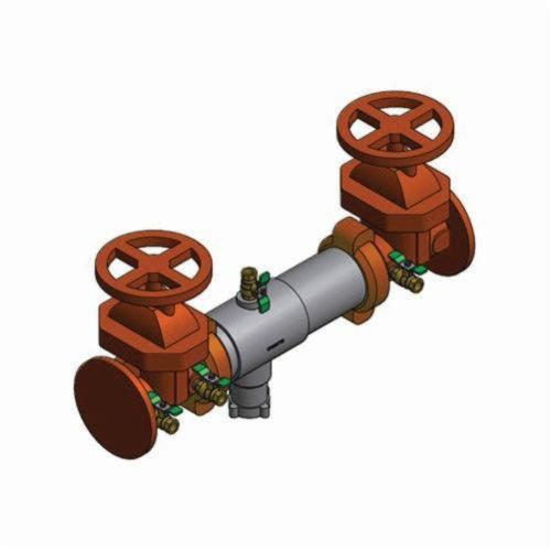WATTS® 0111603 SilverEagle® 957 Reduced Pressure Zone Assembly, 3 in, Grooved, Resilient Seated Gate Valve, 304 Stainless Steel Body
