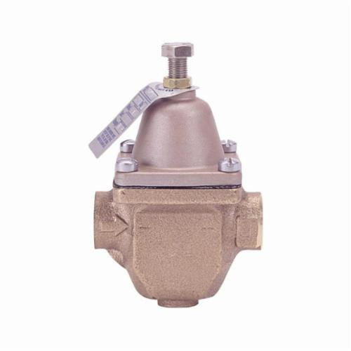 WATTS® 0121225 LF123LP Low Pressure Reducing Valve, 3/4 in, NPT, 200 psi, Cast Copper Silicon Alloy Body